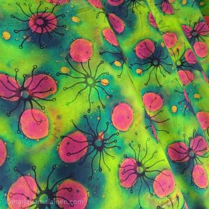 Biologia fabric by Marja Hamalainen.